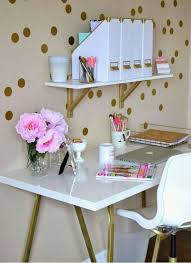 white and gold office desk pin by liliana nuñez on alex pinterest cubicle bedrooms and desks