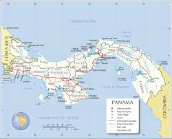Panama World Map by Panama Map Map Of Panama Panama Map In English