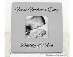 s day gift from baby fathers day frame etsy