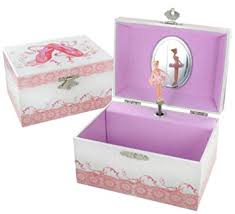 personalized ballerina jewelry box personalised musical ballerina jewellery box pink white