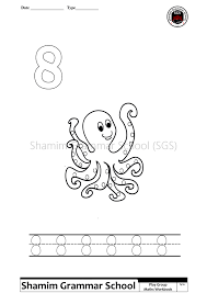 printable counting number worksheets one to ten shamim grammar