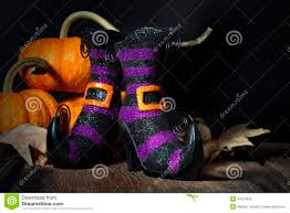 halloween witches booties stock photo image 44373525