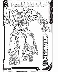 megatron coloring pages pictures of transformers characters coloring home