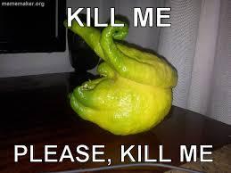 Kill Me Meme - pear lemon lime kill me know your meme