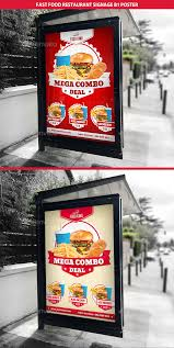 restaurant fast food signage b1 poster by gilledeville graphicriver