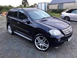 jeep mercedes mercedes ml320 amg sport auto not x5 q7 jeep in newry
