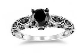 wedding rings black friday deals engagement rings satiating engagement rings black diamond side