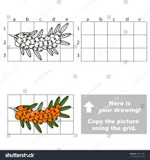 copy picture using grid lines easy stock vector 467511605