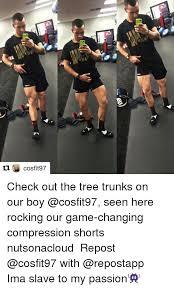 Tree Trunks Meme - 25 best memes about compression shorts compression shorts memes