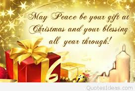 goodnight christmas quote with card