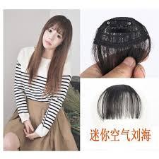 hair accessories malaysia seamless hair extensions korean air bangs wig fringe