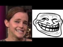 Troll Face Know Your Meme - emma watson troll face youtube