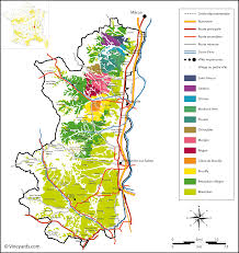 French Map France Map Of Vineyards Wine Regions