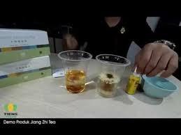 Teh Jiang demo produk teh jiang zhi tea tiens