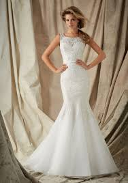 mori halter neck wedding dress intricate embroidery with crystals bridal gown style 1326 morilee