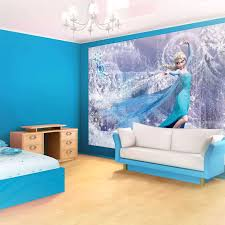 deco chambre reine des neiges fresque murale chambre fille cool inspirations avec deco chambre