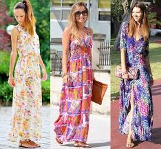 summer maxi dresses style ideas spending summer days with a casual maxi dress