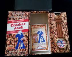 Personalized Cracker Jack Boxes Cracker Jack Box Etsy