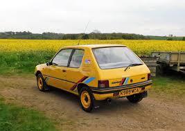 peugeot yellow 1993 peugeot 205 rallye classic car auctions