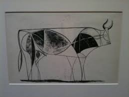 the bull how picasso practiced being concise u2026 drawing down the