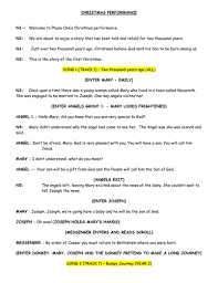 nativity script 30 speaking parts by dohertyon