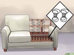 ressort canapé comment réparer un canapé qui s affaisse 14 é