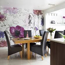 kitchen feature wall ideas dining room wallpaper ideas marceladick