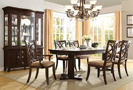 homelegance keegan double pedestal dining set neutral tone