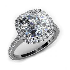 wedding ring melbourne dazzle cushion cut diamond halo engagement ring