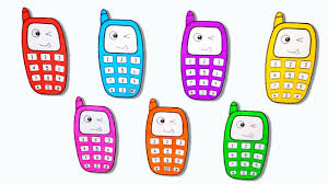 draw baby phone and learn colors fun drawing and coloring pages