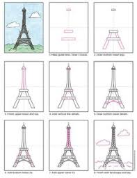 how to draw eiffel tower my little will love this the 2