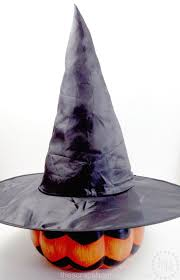 glamorous witch hat the scrap shoppe