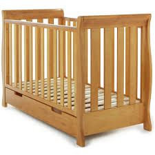 Orchard Sleigh Cot Toddler Bed White Obaby Stamford Mini Cot Bed