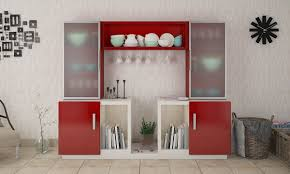 crockery unit designs kitchen and dining crockery unit designs