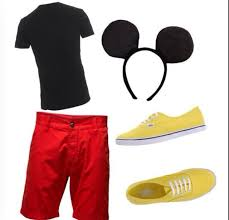 Mickey Halloween Costume 25 Mickey Costume Ideas Mickey Mouse Costume