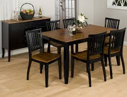 black dining room sets black dining set for elegant house furnishing allstateloghomes