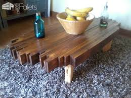 Coffee Table From Pallet Design Pallet Coffee Table 1001 Pallets
