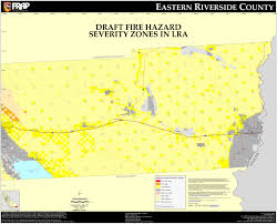 Map Of Riverside County Cal Fire Riverside County East Fhsz Map