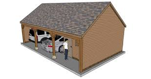 two bay garage with workshop the stable company 1