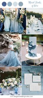 blue wedding 10 prettiest blue wedding color combos for 2018