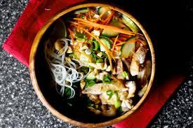 cold rice noodles with peanut lime chicken u2013 smitten kitchen