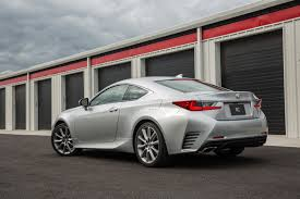 lexus rc two door 2015 cosseted by the coupe 2015 lexus rc 350 road test review