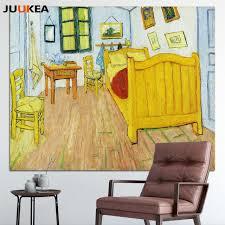 artistes vincent gogh chambre à arles toile print affiche