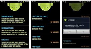 android secrets android secret codes to unlock features on mobile