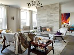 interiors edgy section new york spaces