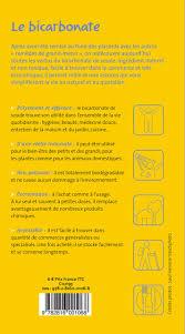 utilité bicarbonate de soude en cuisine amazon fr bicarbonate collectif livres