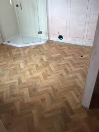 Laminate Flooring Sunderland Karndean Art Select Blonde Oak Parquet Flooring Fitted By Pauls