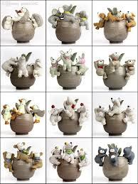 2017 garden decoration animal gadget succulent pots decoration dof