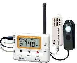 light intensity data logger rtr 500 wireless data logging system for temperature rh voltage