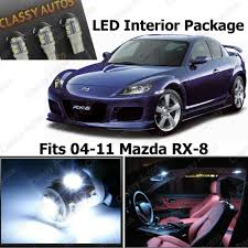amazon com classy autos white led lights interior package deal